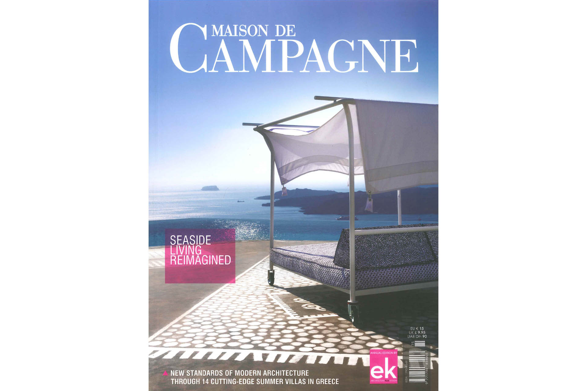 louisa 39 s image on the cover of maison de champagne 2017 magazine louisa nikolaidou. Black Bedroom Furniture Sets. Home Design Ideas